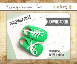 card invitation sles pregnancy announcement card simple