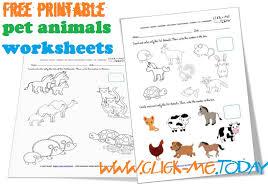 printable animal activities printable pet animals worksheets activities for pet animals