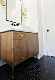 Mid Century Modern Bathroom Vanity How To Make A Mid Century Inspired Vanity From A Modern Cabinet