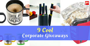 9 cool corporate giveaways corporate gift ideas by plattershare