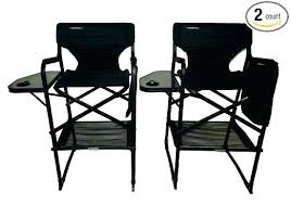Folding Directors Chair With Side Table Side Tables Director Cing Chair Side Table Folding C Chair