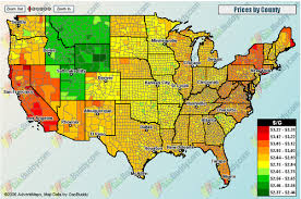 map us gas prices rewinn heat map of us gas prices