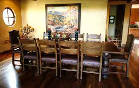 Rustic Wood Kitchen Tables - dinning farmhouse table for sale rustic wood dining table round