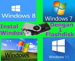 cara membuat bootable xp pada flashdisk membuat bootable windows xp 7 8 8 1 10 dengan flashdisk menggunakan
