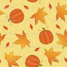 thanksgiving pumpkins seamless pattern background vector by