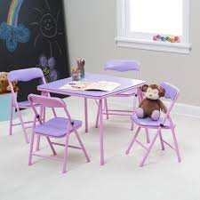 lipper kids small pink and white table and chair set hayneedle