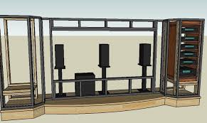 Home Theater Stage Design For Goodly Home Theatre Stage Design - Home theater stage design