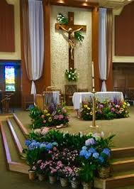 easter religious decorations easter church decorations and environment the king