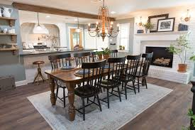 Dining Lights Above Dining Table Episode 07 The Mexia Major House Fixer Upper Episodes Joanna