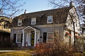 front porches on colonial homes architecture colonial revival house with gambrel roof and dormer
