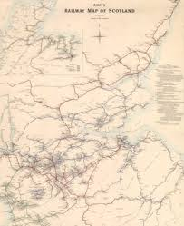 map us railways vintage map lifts lid on scotland s lost railways the scotsman