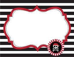 pirate party free pirate party food labels pirate party buffet table labels