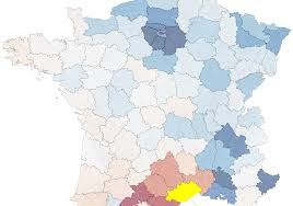 Paris France On Map by Mobility Flow Of France