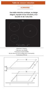 Cdiscount Table De Cuisson Gaz by Whirlpool Acm505ne Table De Cuisson Induction 3 Zones 6500w