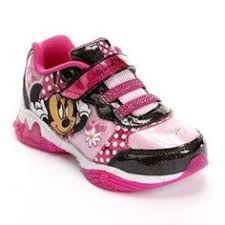 minnie mouse light up shoes size 9 girls minnie mouse bowtique athletic shoes sneakers