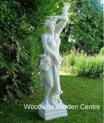 large marble resin melanie statue garden ornament