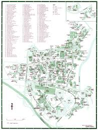 Usa Campus Map by Campus Map Showing Special Access Points University Of Hawaii At