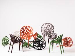 miramid plastic in the vegetal chair made by ronan u0026erwan