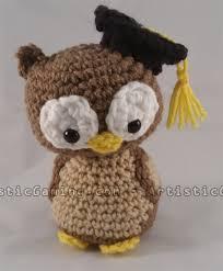 graduation owl teach me to crochet graduation owl pattern artisticgaming