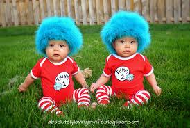 Twins Halloween Costumes Infant Loving Twins U0027 Halloween Costumes 1 2