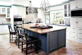 Kitchen Island Butcher Butcher Block Island With Stools Picture About Interesting