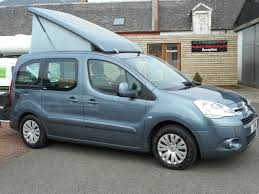 Citroen Berlingo Awning A Bargain Compact Camper Van For Sale In Ayr Scotland Nissan