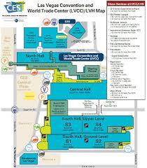 las vegas convention center floor plan consumer electronics show