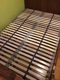 bedding slatted base leirsund adjustable queen ikea wooden slats
