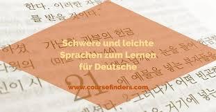 bilder mit spr che schwere und leichte sprachen zum lernen für deutsche coursefinders