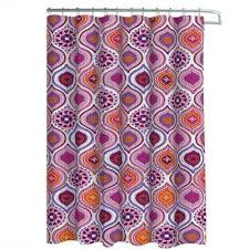 Pink And Orange Shower Curtain Polyester Shower Curtains Shower Accessories The Home Depot