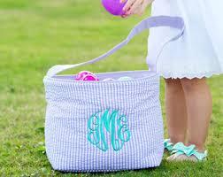 personalized easter egg baskets easter egg basket etsy