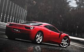 Ferrari 458 Gt - ferrari 458 italia rain cg gt gran turismo supercars rain drops