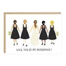 will you be my bridesmaid card klöver ni design jade fisher will you be my bridesmaid card
