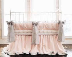 White Ruffle Crib Bedding Crib Bedding Set Etsy
