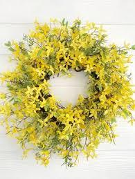 whimsical spring forsythia wreath jenna burger blue and white tulip wreath blue tulip wreath tulip wreath