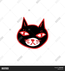 Halloween Banner Clipart by Black Cat With Red Eyes Witches And Witchcraft Symbol Halloween