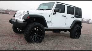 White And Black Jeep Wrangler 4 Door Hardtop Reviews Youtube