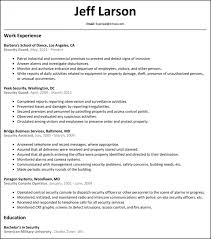 sample cover letter for security guard large size of curriculum