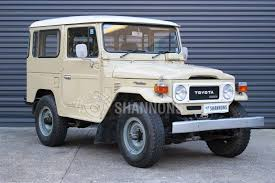 classic toyota land cruiser sold toyota land cruiser bj 42 diesel swb auctions lot 2