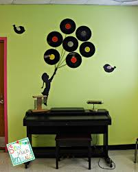 Music Decor Sew Much Music Balloon Silhouette In A Music Classroom