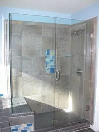 glass bathtub doors frameless frameless tub enclosure next to a