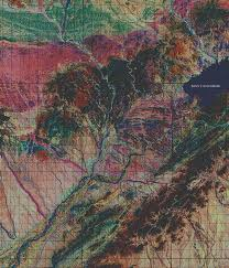 Geological Map Collections Highlight The Tobin International Geological Map