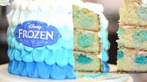 How Decorate Cake At Home How To Make A Cream Cake Frozen How Ro Make A Cream Cake At Home