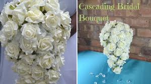 how to make a wedding bouquet how to create your own cascading bridal bouquet diy wedding