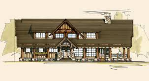 Home Plan Magazines Beartooth Luxury Log Homes Rustic Home Plans