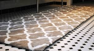 Rugs For Bathroom Bathroom Runner Rug Inspiration Home Designs Best Choices