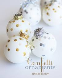 confetti painted ornaments confetti ornament and holidays