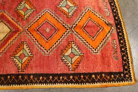 Vintage Moroccan Tribal Rug Runner Matisse Style For Sale At 1stdibs