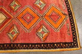 Vintage Tribal Rugs Vintage Moroccan Tribal Rug Runner Matisse Style For Sale At 1stdibs