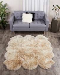 Faux Fur Area Rugs by Large Sheep Skin Rug Roselawnlutheran